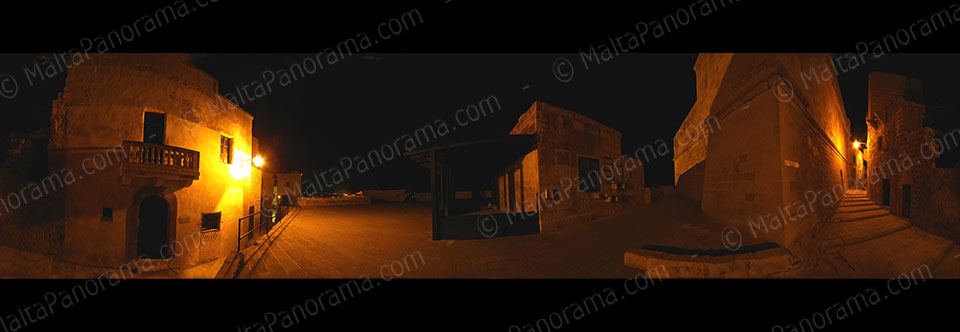 Cittadella Gozo – Dimly Lit Streets At Night (Ref: pfm110132)