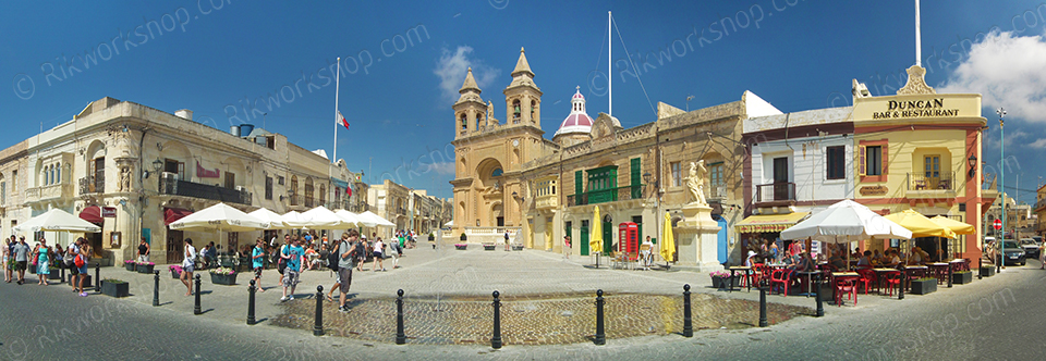 Marsaxlokk - The Village Piazza