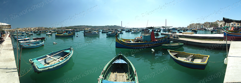 Fishing Boats at Marsaxlokk