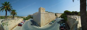 Mdina Ditch and Bastions