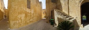 Narrow streets of Mdina