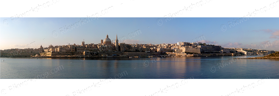 Sunrise Over Valletta