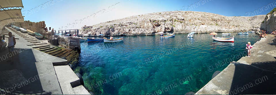 Crystal Clear Waters Of Wied Iz-Zurrieq