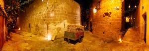 Tarxien Alleys At Night