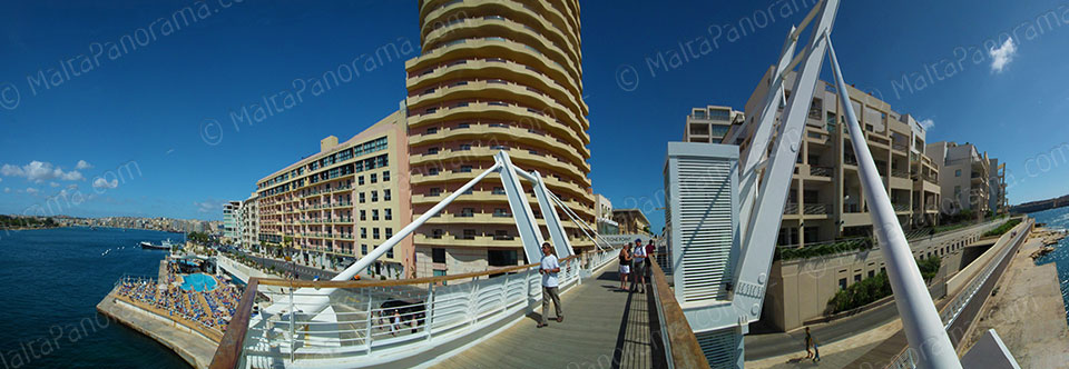 The Point Bridge - Tigne Sliema
