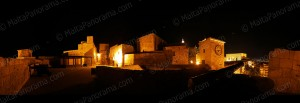 Citadel by night - Gozo