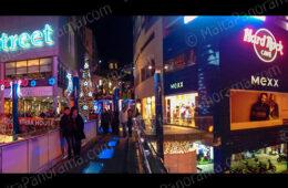 Bay Street Shopping Complex By Night (Ref: pfm120152)