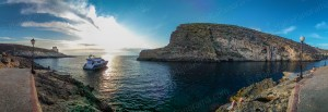 Sunset in Xlendi - Gozo