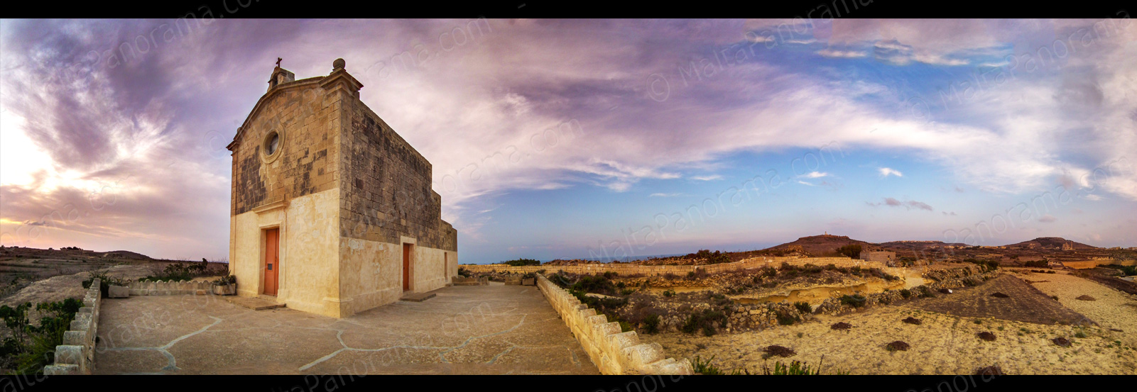 The Chapel of San Dimitri - Limits of Gharb, Gozo.