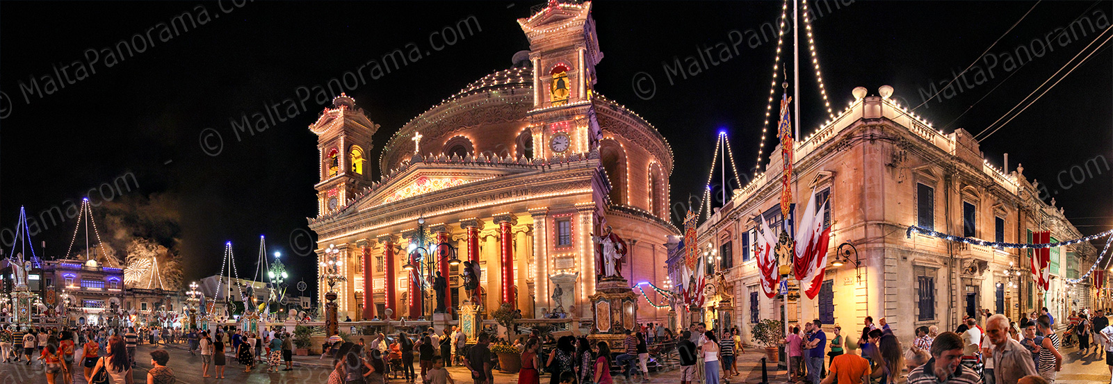 Feast of St.Mary in Mosta