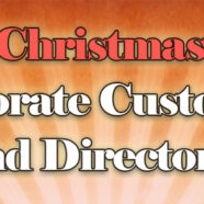 Unique Christmas gifts for Corporate Customers and Directors.