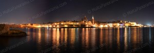 City of Valletta by Night