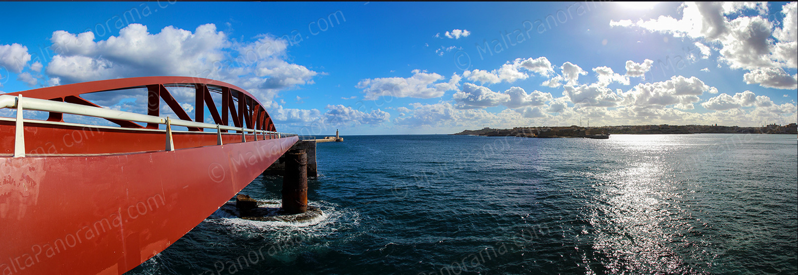 St.Elmo Bridge - Valletta Breakwater