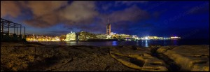 Portomaso Panoramic by Night