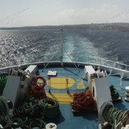 Gozo Ferry Leaving Malta (Ref: pfm110008)