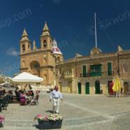 Marsaxlokk – Village Piazza (Ref: pfm110061)