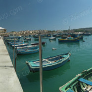 Marsaxlokk – Fish Market and Fishing Boats (Ref: pfm110062)