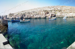 Crystal Clear Waters Of Wied Iz-Zurrieq (Ref: pfm110108)