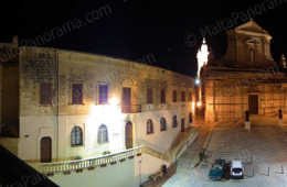 Cittadella Square In Gozo At Night (Ref: pfm110118)