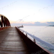 Valletta – Dawn at Breakwater Bridge (Ref: pfm120134)