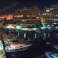 Night View Of Hilton Portomaso Marina (Ref: pfm120146)