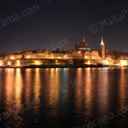 Valletta – Capital City By Night (Ref: pfm130171)